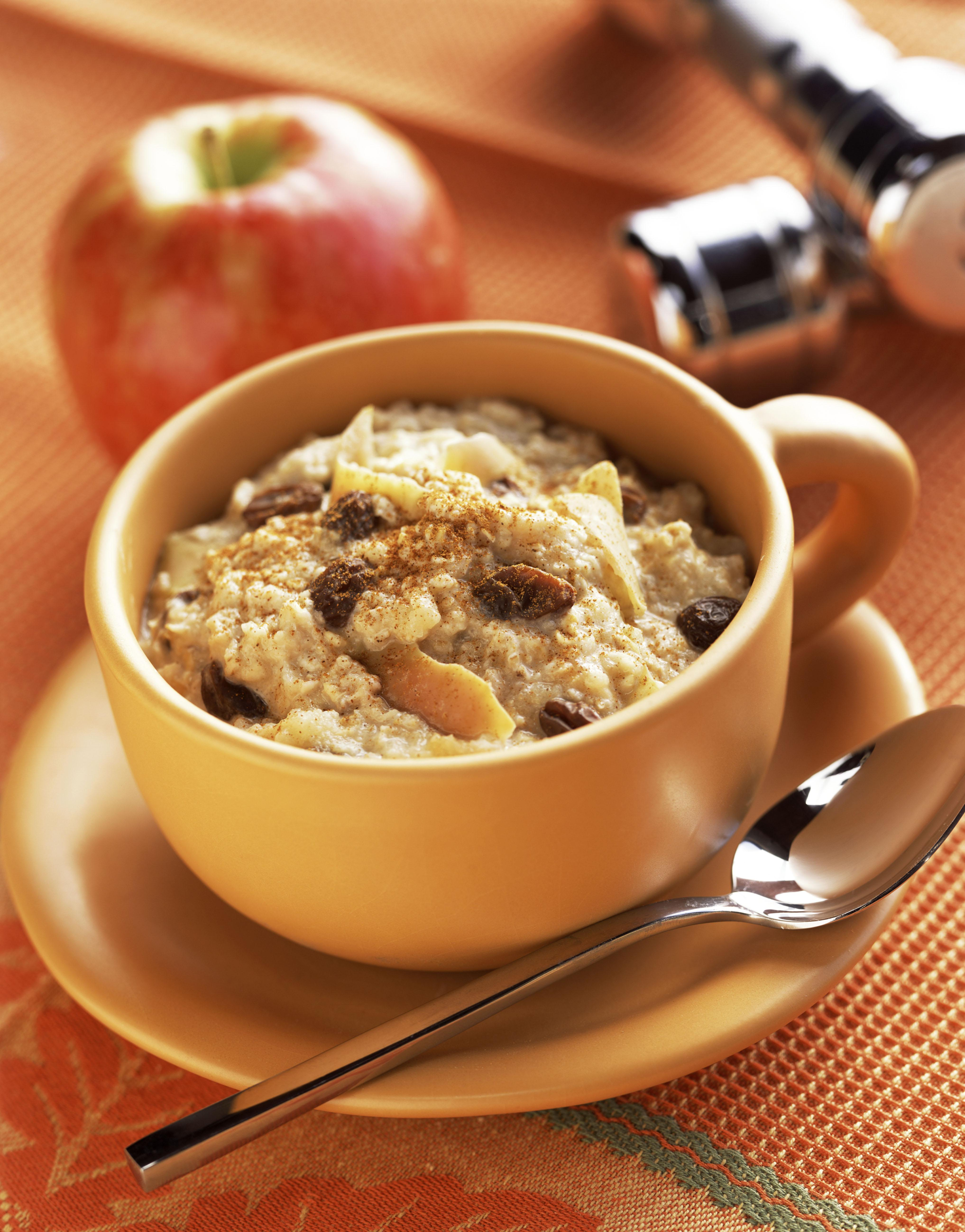 Oatmeal and fruit